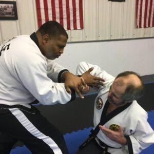 Hapkido martial arts instructor Chief Master Dexter Mangum